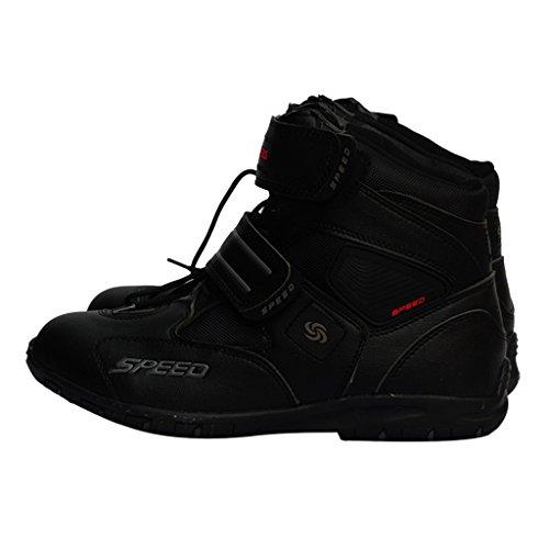 Kengät Musta Urheilullisesta Törmäyksenestolaitteet Nilkkurit Moottoripyörä Pari Dolity Lyhyt D 40 Mukava 7z68S6q