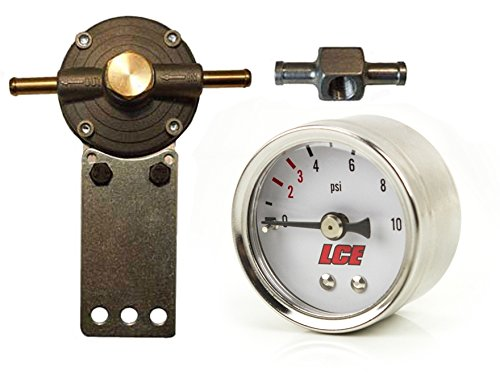 LC Engineering 1035056 Fuel Pressure Regulator Kit for LOW Pressure Carburetor