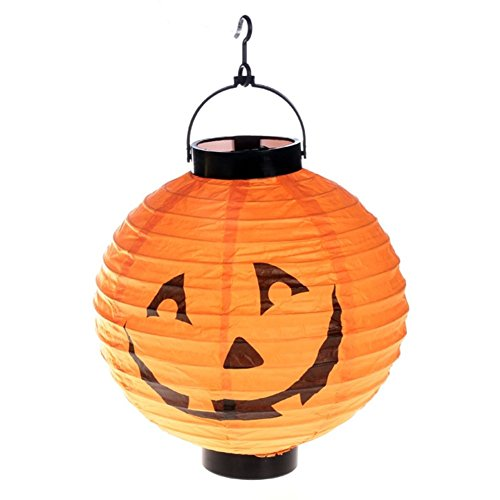 Halloween lanterns/ activity items/Mobile hanging pumpkin paper Lantern-A -