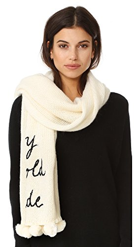 Kate Spade New York Women's Baby It's Cold Outside Muffler, Cream, One Size by Kate Spade New York