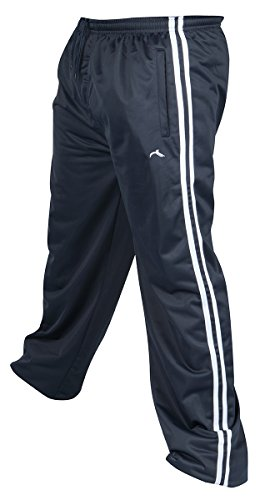 2b9ef1433b PRO-TONIC Mens Tracksuit Bottoms Silky Casual Gym Jogging Joggers Sweat  Pants