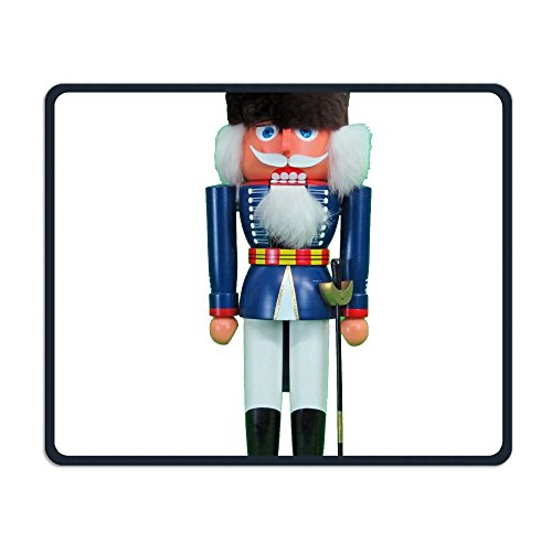 German Wooden Nutcracker Guard Office Rectangle Non-Slip Rubber Mouse Pad Entertainment Gaming Mouse Pad for Laptop Displays Tablet -