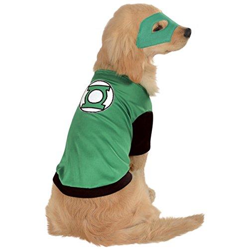 Image of DC Comics Pet Costume, Medium, Green Lantern