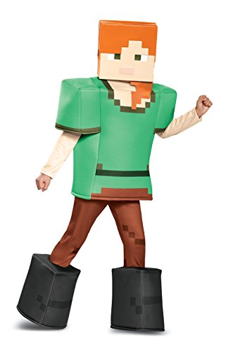 Alex Prestige Minecraft Costume, Multicolor, Medium (7-8)