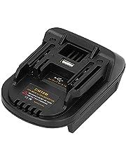 Batteriadapter, litiumbatterikonverterare Lätt att använda hållbara Makita-verktyg för Milwaukee 20V DCB200 DCB203 DCB205 DCB206 M18 + DM18M Adapter