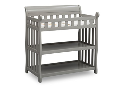 Big Save! Delta Children Eclipse Changing Table, Grey