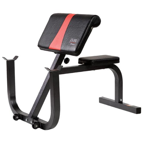 Pure Fitness Preacher Curl Bench Benches Fitness Equipment