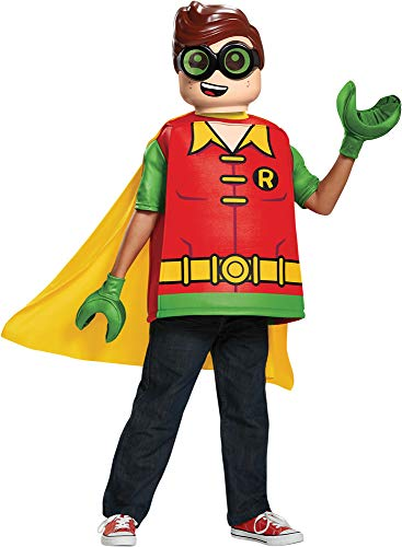 Disguise Boy's Lego Batman Robin Outfit Funny Theme Child Halloween Costume, Child S (4-6) for $<!--$49.95-->