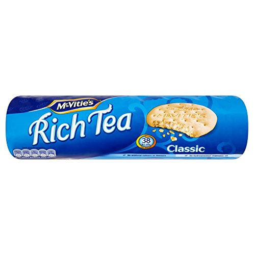 McVitie's Rich Tea Biscuits, 300 Gram (Pack of 6)