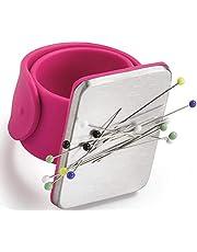 Magnetische polsband, 1 STKS Magnetische Siliconen Polsband, Magnetische Pin Armband, Magnetische Naaien Pinkussen, Vierkant Pin Kussen Met Siliconen Polsband Polsband voor DIY Naaien Borduurwerk Haar Clips