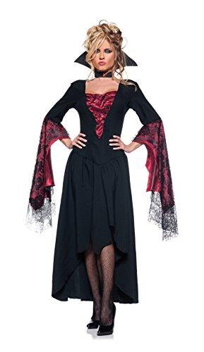 Women's Sexy Vampire Queen Costume - The
