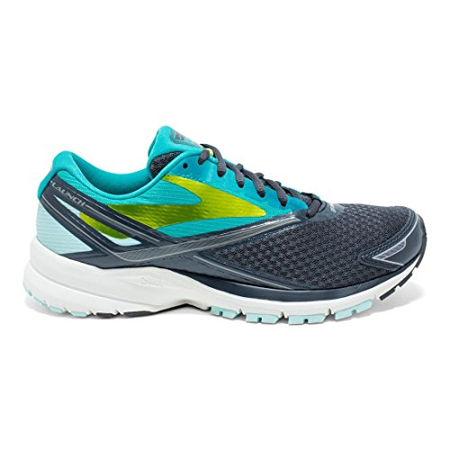 Shoes Blue Women's Brooks 4 Teal Anthracite Running Launch xZ6BqI