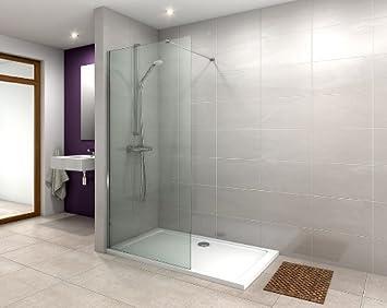 Florence G1000 - Mampara de ducha (1600 x 700 mm, incluye trampa): Amazon.es: Bricolaje y herramientas