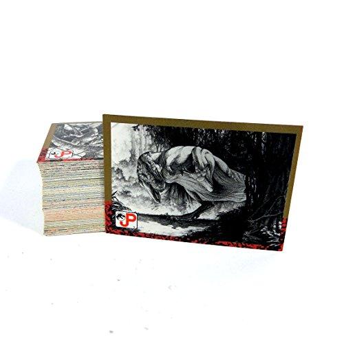 1993 Topps Card - 1993 Topps Jurassic Park Series 1 Trading Card Set (1-88) NM/MT