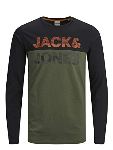 Jack&Jones Longsleeve JCOMILLER 12165543 Winter Moss
