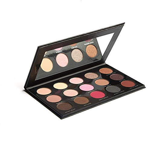 XPose Cosmetics – EyeShadow Palette – 15 Color Eye Candy Eye Shadow – Ultra Matte Metallic