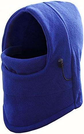 Sikye Cycling MaskPremium Fleece Winter Warm Scarf Neck Warmer Face Mask for Men Women Outdoor Hiking Skiing (Blue)