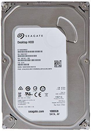 Seagate Barracuda ST1000DM003 1 TB 7200 rpm SATA/600 64 MB Buffer 3.5