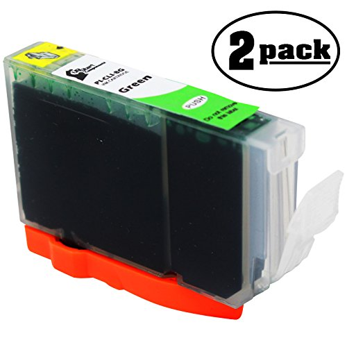 2 Replacement Canon CLI-8G Green Ink Tank Cartridge - Compatible with Canon Pro 9000, Canon Pixma Pro9000 Mark Ii, Canon Pixma 6500, Canon Pixma Pro 6000, Canon Pixma Pro 6500 Compatible Green Ink Tank
