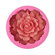 DIY Beautiful Flowers Rose Carnation Soap Mold Fondant Cake Silicone Mold Chocolate Candy Baking Clay Mould