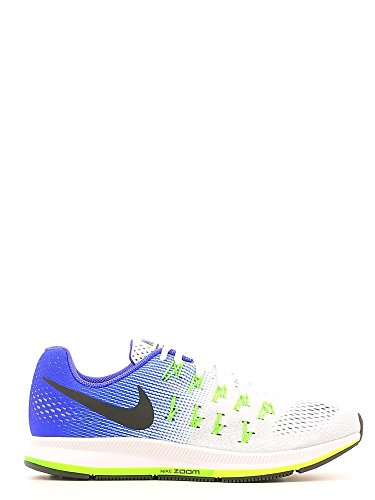 Nike Herren Air Zoom Pegasus 33 Weiß / Schwarz - Concord - Electric Green