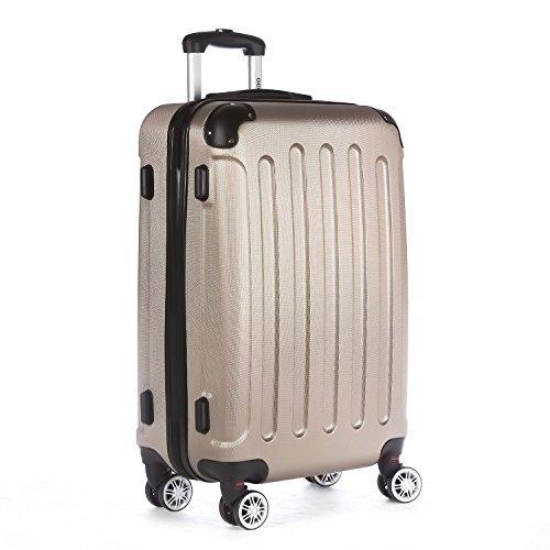 2045-Reisekoffer-Koffer-Trolley-Hartschale-XL-L-M-in-12-Farben