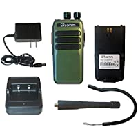 SRcommunications green SR-D1U 400-470MHz 256 channels 16 zone 4W digital/analog DMR portable radio