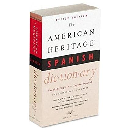 Attirant Houghton Mifflin American Heritage Office Spanish Dictionary, Paperback,  640 Pages (0618048731)