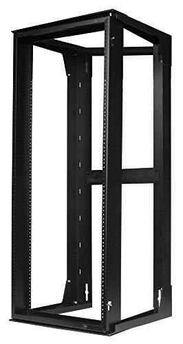 Hubbell HPWWMR36 Wall Mount Network Rack, Swing Frame, 19U, 36