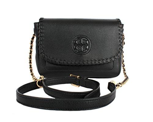Tory Burch Marion Mini Bag, Black, Style No. 40804 by Tory Burch