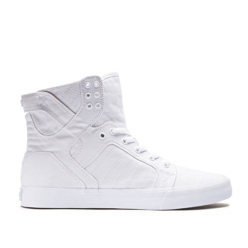 Supra Men's Skytop D Off White/White Sneaker Men's 13 D - Medium by Supra