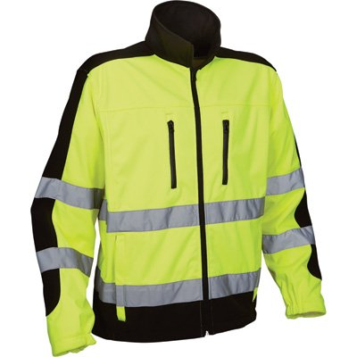 Visibility Reflective Softshell Polyester Protector