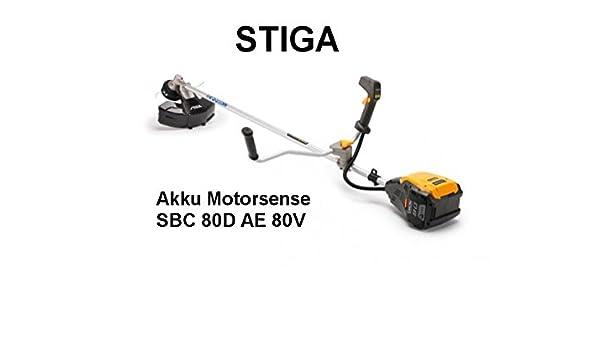 Cortabordes eléctrico Stiga SBC 80 D AE, cortabordes a ...