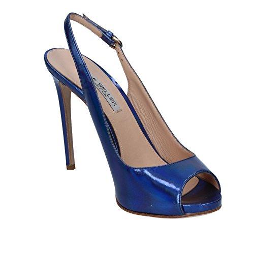 Seller The Donna Pelle Blu Sandali wTTfAq7