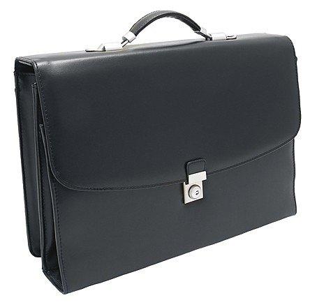 Deluxe Business Aktentasche mit Laptop-Aufbewahrungsfach