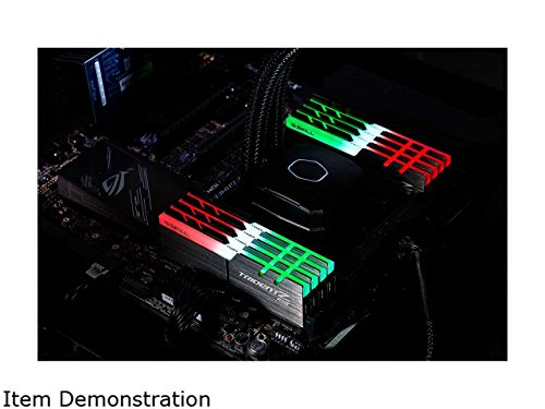 G.SKILL TridentZ RGB Series 128GB (8 x 16GB) 288-Pin DDR4 3333MHz DIMM F4-3333C16Q2-128GTZR by G.Skill (Image #2)