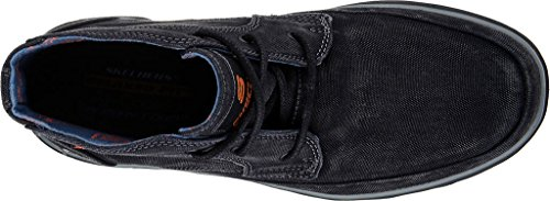 Skechers Men's Relaxed Fit Resment Tavos Ankle Boot, Noir