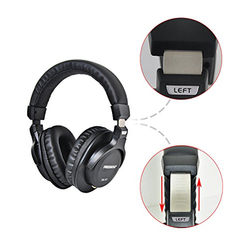 Freeboss FB-777 40mm Drivers Single-side Detachable cable 3.5mm Plug 6.35mm adapter Monitor Headphones by Freeboss (Image #3)