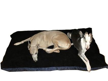 kosipet® Negro Sherpa Forro Polar mediano para cubierta para cama para perro, camas para