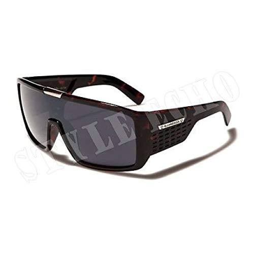 le Mens Designer Sunglasses Metal Detail on Center ()