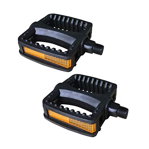 N3od3er Kids Bike Pedals Upgraded Resin 1 Pair 16'' 18'' 1/2-Inch