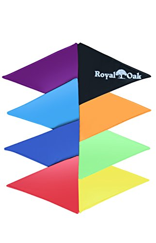 Royal Oak Colorful Rainbow Flags for Saucer Swing, Tire Swings, Weather Proof, Durable Material, Great for Parties and Events