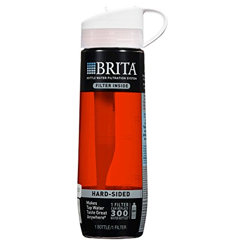 Brita Hard Sided 23.7 oz Water Bottle - Persimmon