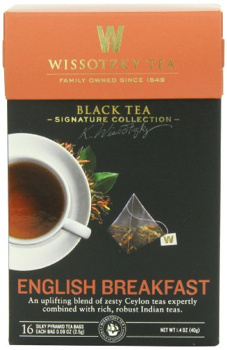 Breakfast Collection (Wissotzky Tea Signature Collection English Breakfast Tea, 1.41 Ounce)