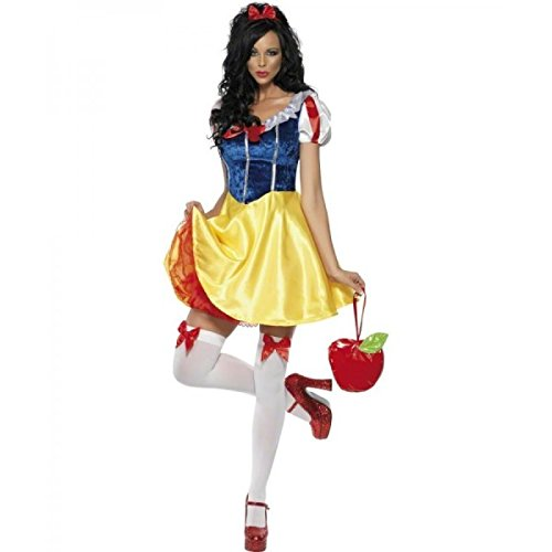 Sexy Classic Snow White Adult Womens Costumes - Fever Fairytale Adult Costume -