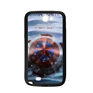 Captain America Design Hard Case High-quality Case for Samsung Galaxy Note2 N7100 (Laser Technology)
