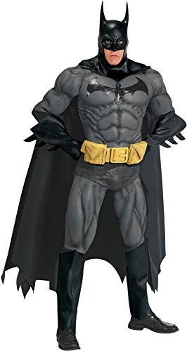 Batman Costumes Collectors Adult Edition (Collector's Edition Batman Adult Costume -)