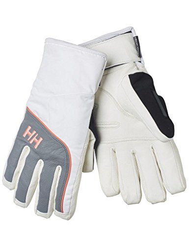 Helly Hansen 2016 Women's Freya Helly Tech Winter Glove - 67802 (White/Grey - S)