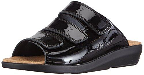 Gevavi 3001 Bighorn Slipper - Zapatillas De Estar Por Casa para mujer Schwarz (schwarz(zwart lak) 90)