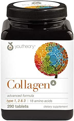 Collagen, Advanced Formula Type 1, 2 & 3-290 Tablets by Youtheory